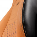 Cadeira Gaming Noblechairs ICON Real Leather Cognac/Preta