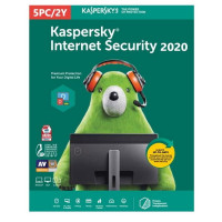 Software Kaspersky Internet Security 2020 Multi-Device 5 Users 2 Anos