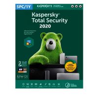 Software Kaspersky Total Security 2020 5 Users 1 Ano